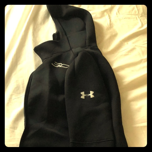 brand new 0fc24 04ce6 Steph Curry UA Hoodie Fitted (Small)